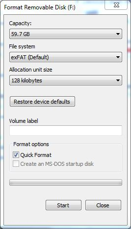 how to format a usb thumb drive for your car a solution to a